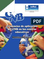 Evidencias del CNB en el aula