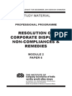 Final Resolution of Corporate Disputes Book