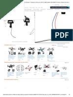 Marcos de motor de 4 piezas + 4 piezas de motor para UDI RC U42W U42WH U45 U45W RC mando a distancia de repuesto para helicóptero de 4 ejes_ Toys & Games