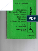 Livro Verde - Manual de Geriatria Chinesa Tradicional e Remédios Chineses a Base de Ervas