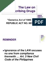 Pharma - The Law on Prescribing Drugs.pdf