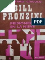 295 Prisionero en La Nieve - Bill Pronzini