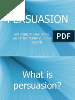 Persuasive Ppt