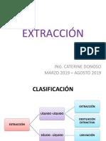 Extracción y Lixiviación