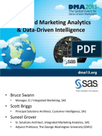 DMA 2013 Integrated Mkt Analytics