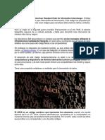 El Código ASCII y reballing