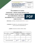 COA CAP18045 1803153 PR 045 Procedimiento de Laboratorio Análisis Granulométrico_Rev.1