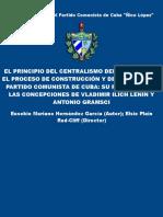 El Principio Del Centralismo de - Hernandez Garcia, Eusebio Maria (1)