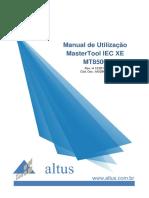 Manual de Utilizacao Mastertool Iec Xe Mt8500