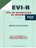 manual de aplicación de tevi-R