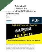 SAPUI5 Tutorial with WebIDE.docx