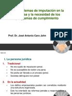 Los Problemas de Imputación en Las Empresas de Jose Antonio Caro Jhon - Peru