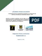 5. Documento Tecnico de Soporte 18062019 Final Transmilenio