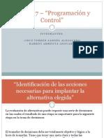 UNIDAD 7 - PROGRAMACION Y CONTROL.pptx