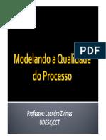 Aula 2 Modelando a Qualidade Do Processo