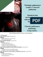 4. Patologia Pulmonară Cronică. Cancerul Pulmonar_0