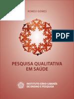Caderno Pesquisa Qualitativa Mestrado 2014