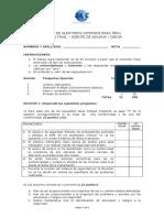 Examen Curso Auditor Interno Junio-Agente de Carga Aduana