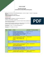 Study guide num