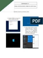 Manual de Instalacion Server 2016