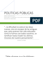 POLÍTICAS PÚBLICAS-INTRODUCCIÓN