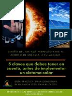 Inplementacion de paneles solares