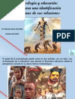 Antropologia y Educación