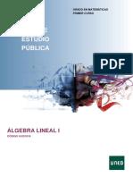 Algebra Lineal I Guia 61021016 2020