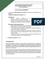 AA2-EV2 GFPI-F-019 Formato Guia de Aprendizaje