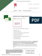 Gestión de La Seguridad Social _ Tienda CEF-UDIMA