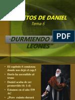 Secretos de Daniel, Cap. 6