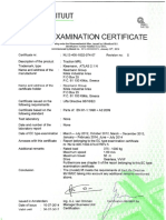 Certificate ATLAS 2 1 EC Rev.5