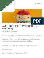 Amit the Friendly Rabbit by Kurumi