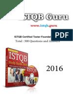 Premium Questions by ISTQB Guru 01