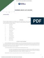 Conteúdo Jurídico _ Homem, Cultura e Sociedade Cultura_ Um Conceito Antropológico