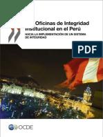 Oficinas Integridad Institucional Peru