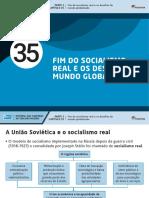 41690063535 - Fim Do Socialismo Real e Os Desafios Do Mundo Globalizado