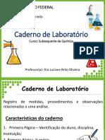 Caderno de Laboratório