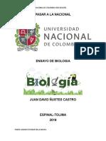 Biología unal