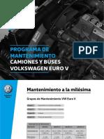Manual de Mantenimiento Camiones y Buses Volkswagen EUROV