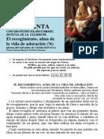 HORA SANTA Con San Pedro Julián Eymard. El Recogimiento, Alma de La Vida de Adoración (76)