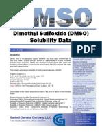 Dmso Solubility