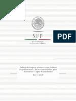 Guia Practica Para Promover Una Cultura Organizacional y de Servicio Publico Para Incentivar El Logro de Resultados