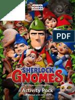 Sherlock Gnomes Activities