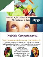 Alimentação Intuitiva - Oficina de Saladas
