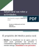 Salud Rural Sus Roles y Actividades.nuevo 2