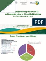 Presentación del artículo  8j El convenio de diversidad biológica