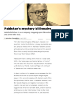 Pakistan's Mystery Billionaire _ Profit by Pakistan Today