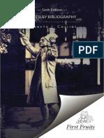 A Wesley Bibliography K. J. Collins