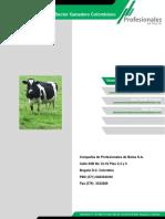 Informe del sector ganadero